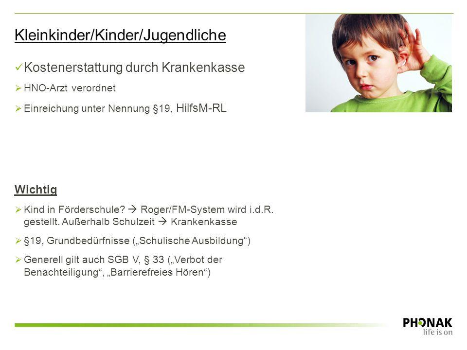 Kleinkinder/Kinder/Jugendliche