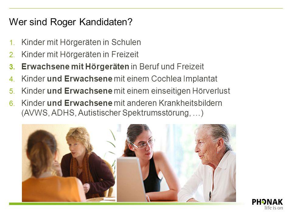 Wer sind Roger Kandidaten