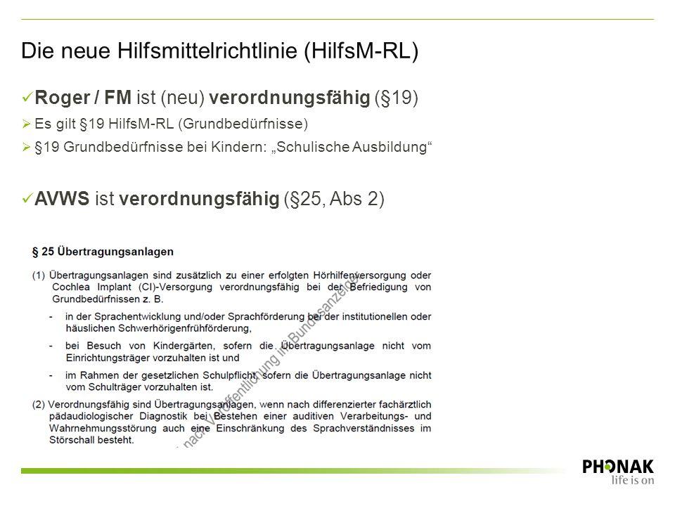 Die neue Hilfsmittelrichtlinie (HilfsM-RL)