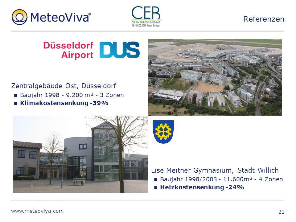 Referenzen Zentralgebäude Ost, Düsseldorf