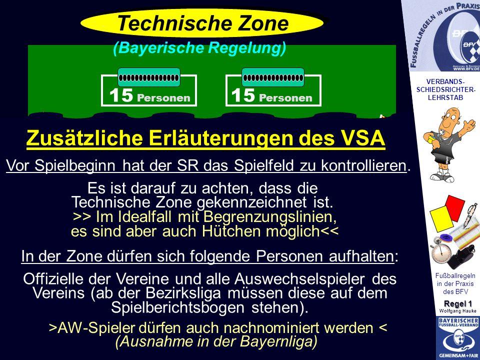 Zusätzliche Erläuterungen des VSA
