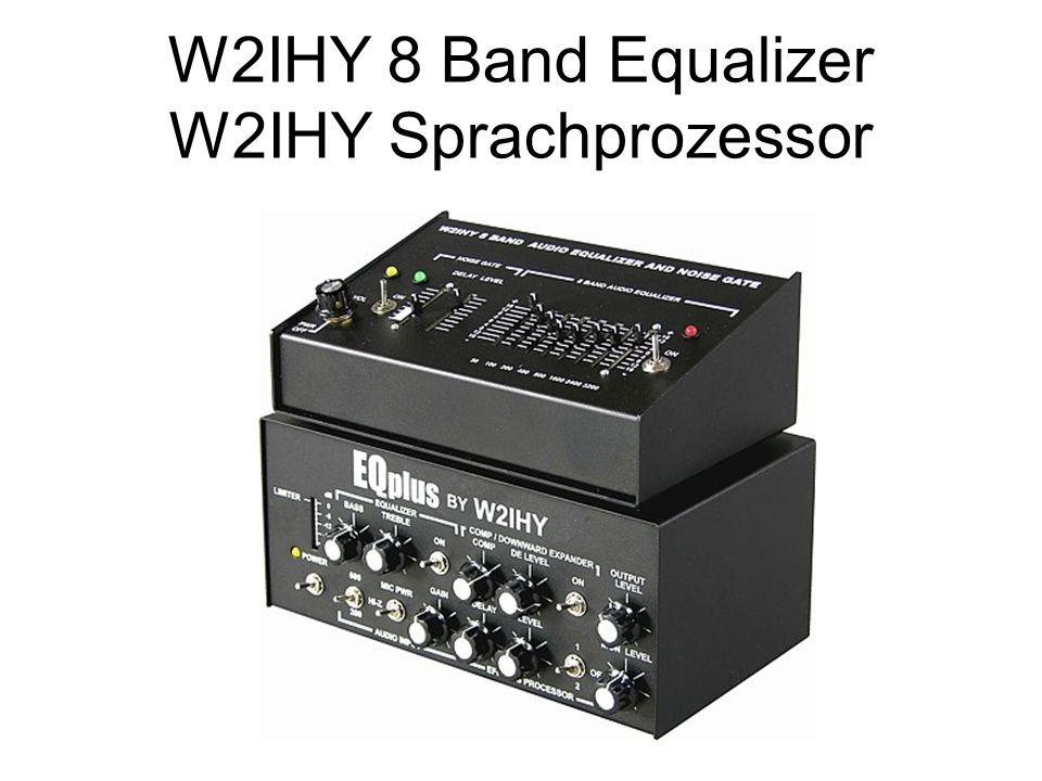 W2IHY 8 Band Equalizer W2IHY Sprachprozessor