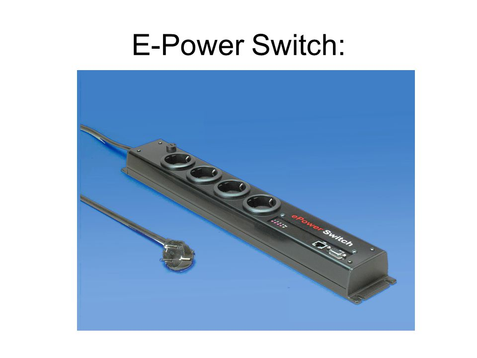 E-Power Switch:
