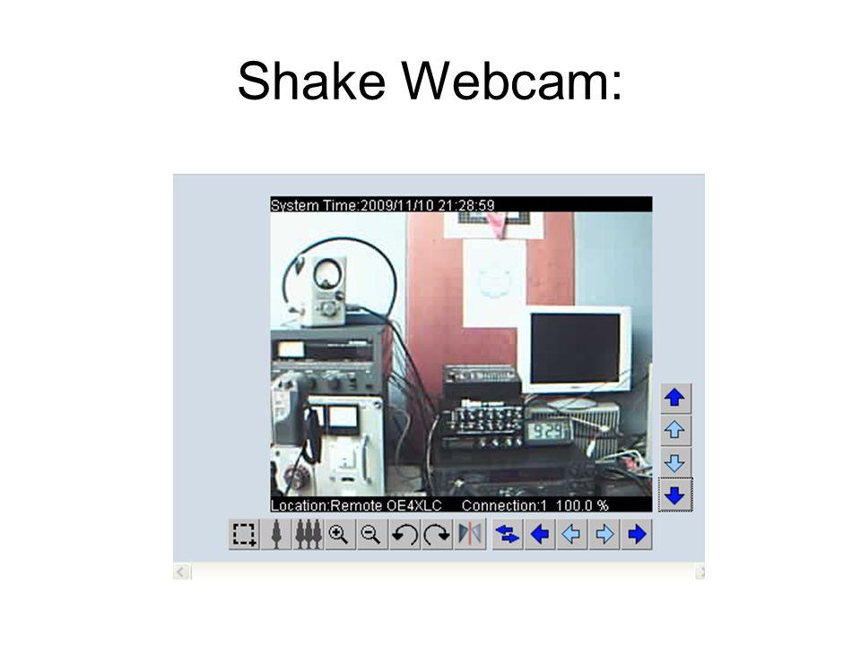 Shake Webcam: