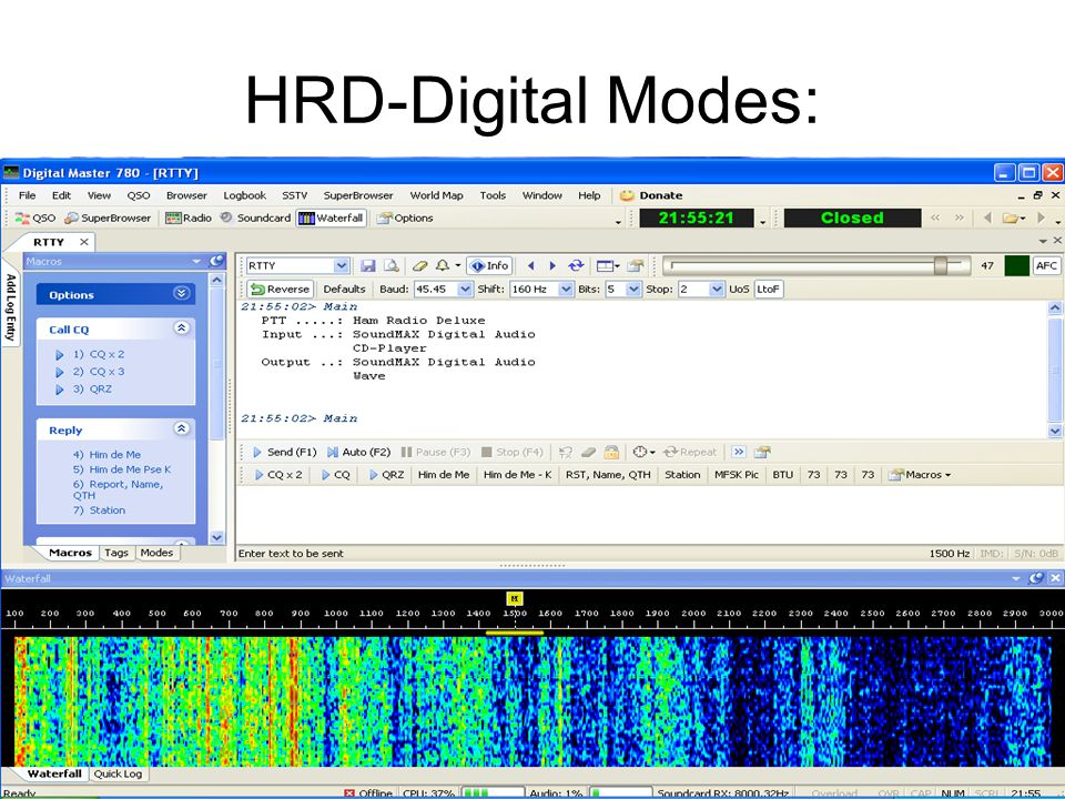HRD-Digital Modes:
