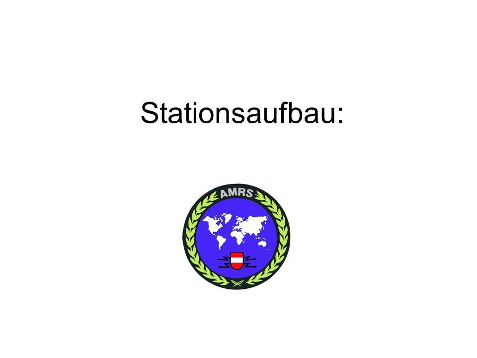 Stationsaufbau: