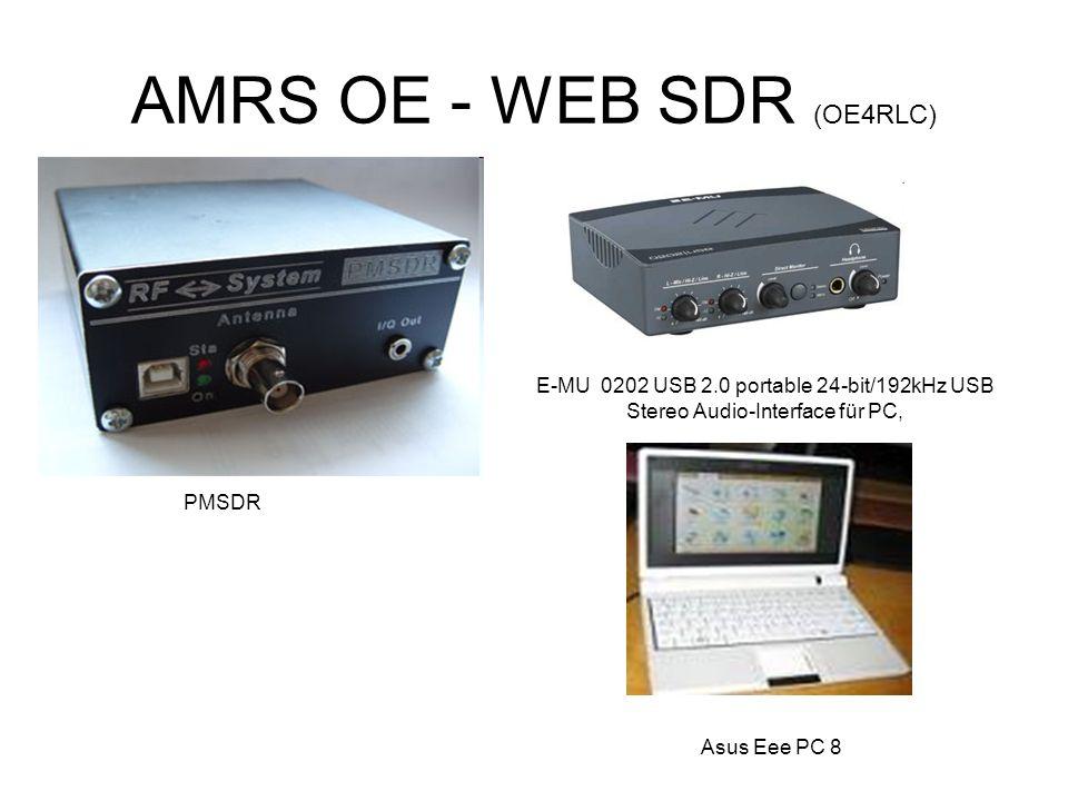 AMRS OE - WEB SDR (OE4RLC)