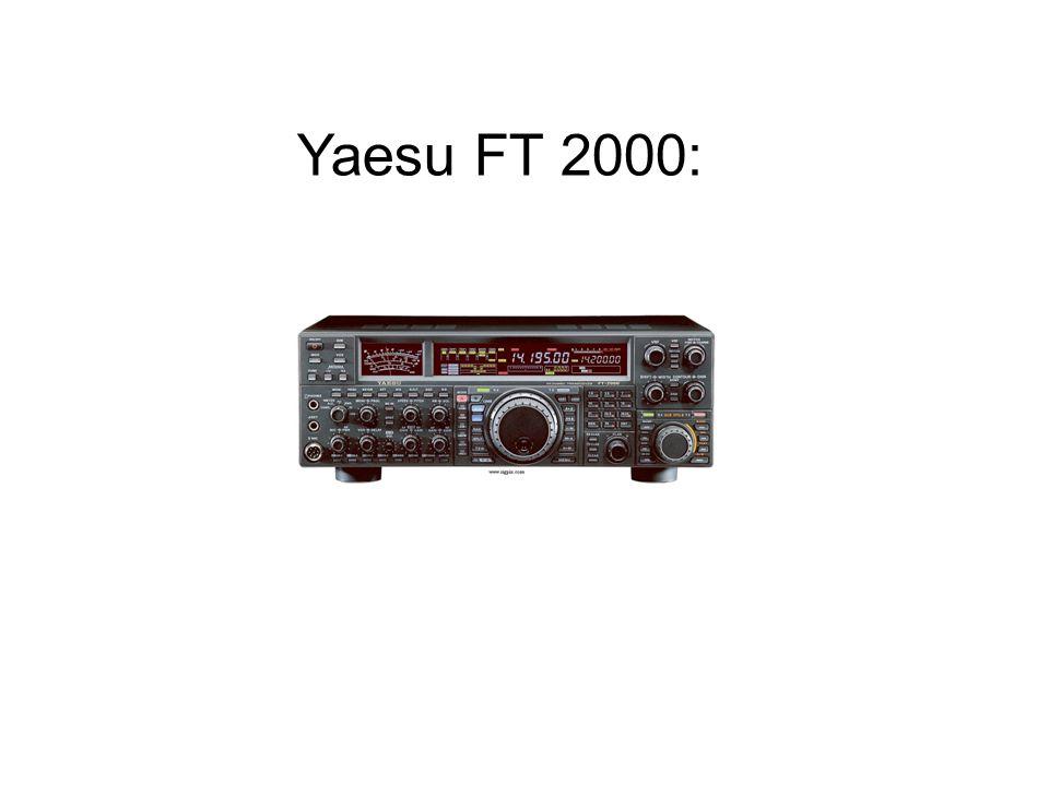 Yaesu FT 2000: