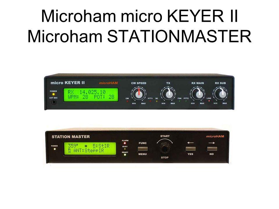 Microham micro KEYER II Microham STATIONMASTER