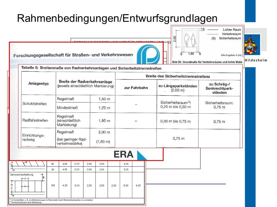 Rahmenbedingungen/Entwurfsgrundlagen