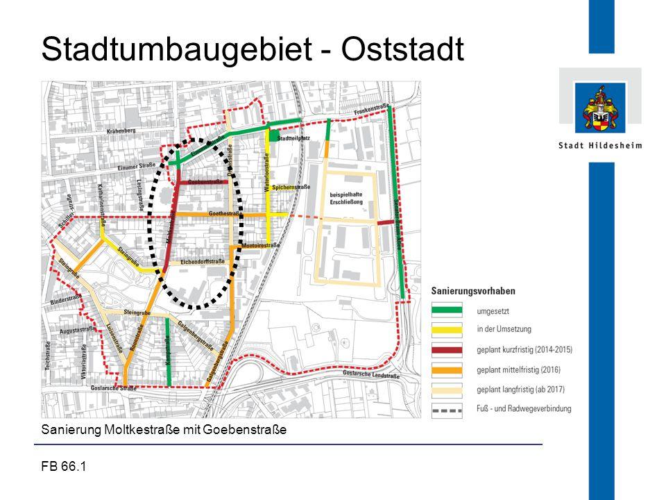 Stadtumbaugebiet - Oststadt