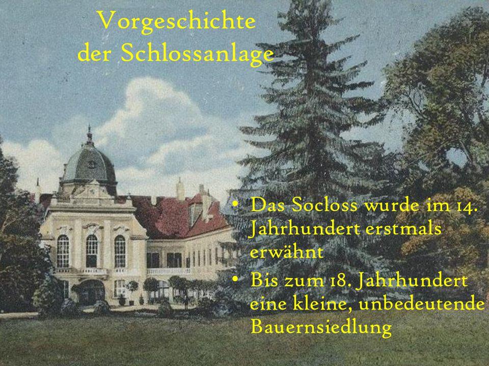 Vorgeschichte der Schlossanlage