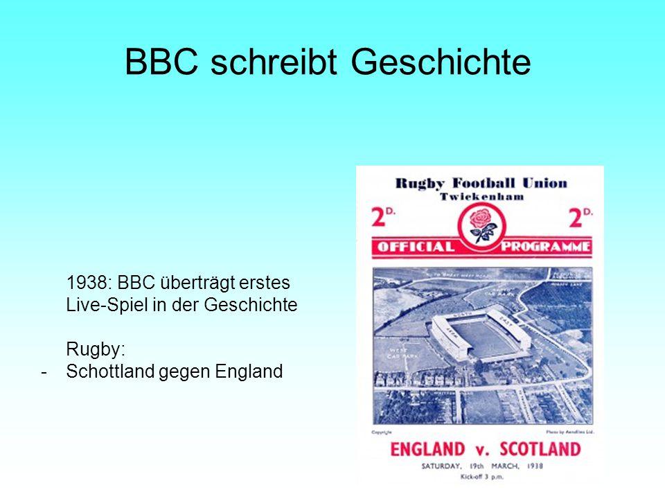 BBC schreibt Geschichte