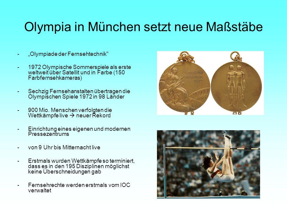 Olympia in München setzt neue Maßstäbe