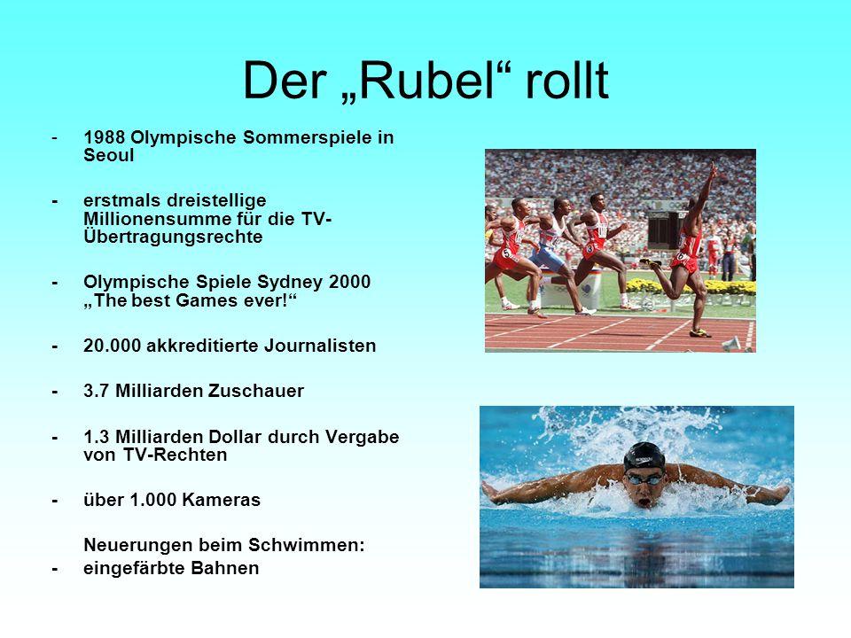 """Der """"Rubel rollt - 1988 Olympische Sommerspiele in Seoul"""