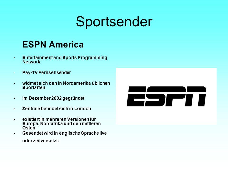 Sportsender ESPN America