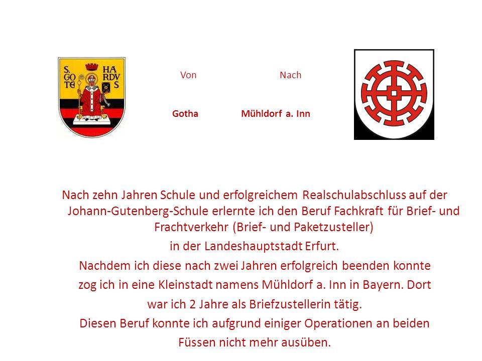 Von Nach Gotha Mühldorf a. Inn
