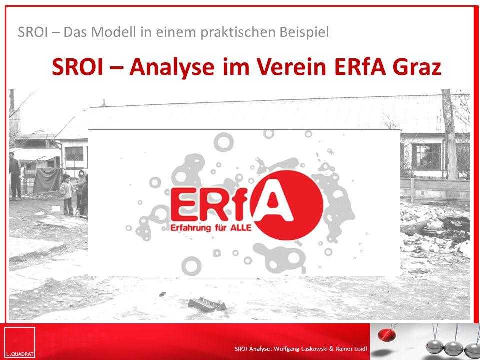 SROI – Analyse im Verein ERfA Graz