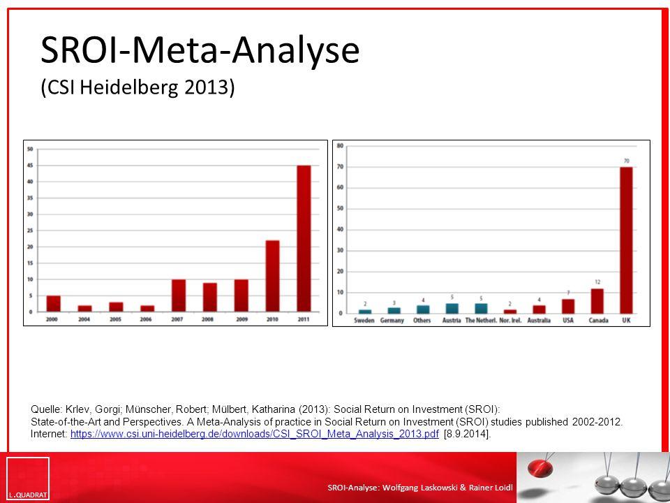 SROI-Meta-Analyse (CSI Heidelberg 2013)