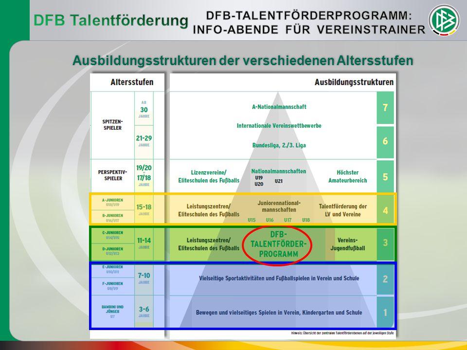 DFB Talentförderung DFB-TALENTFÖRDERPROGRAMM: INFO-ABENDE FÜR VEREINSTRAINER.