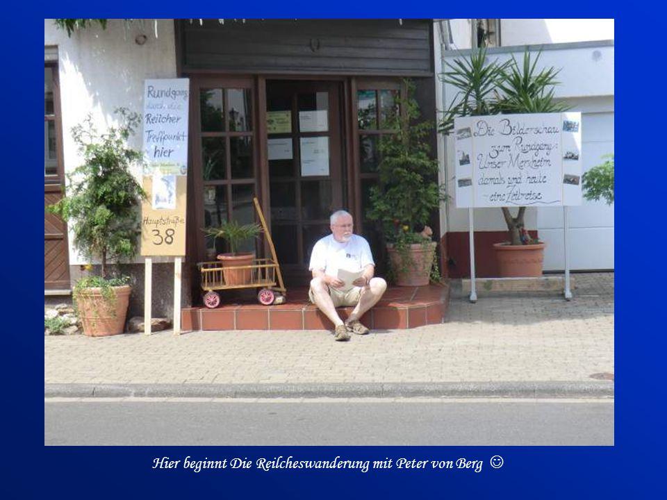 Hier beginnt Die Reilcheswanderung mit Peter von Berg 