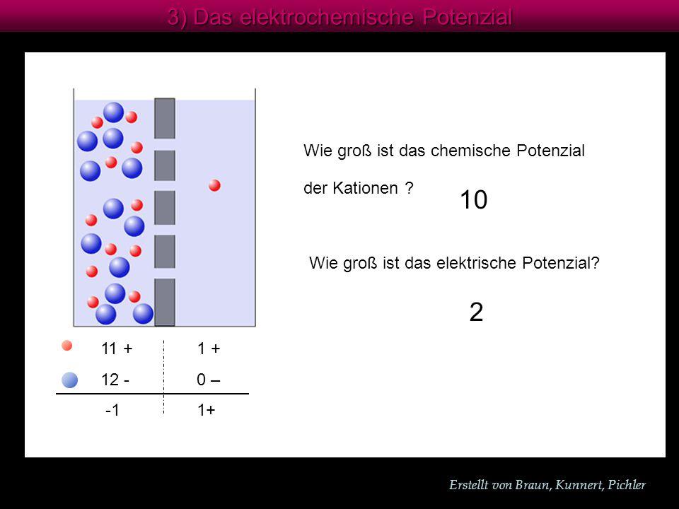 10 2 3) Das elektrochemische Potenzial