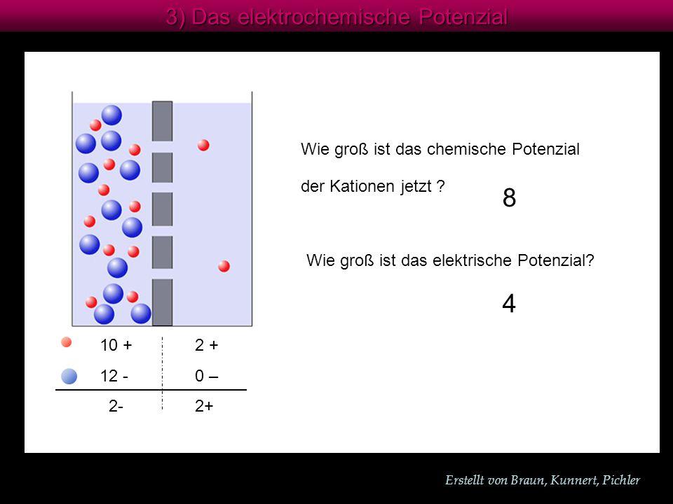 8 4 3) Das elektrochemische Potenzial