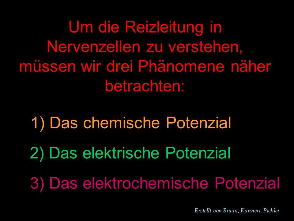 1) Das chemische Potenzial