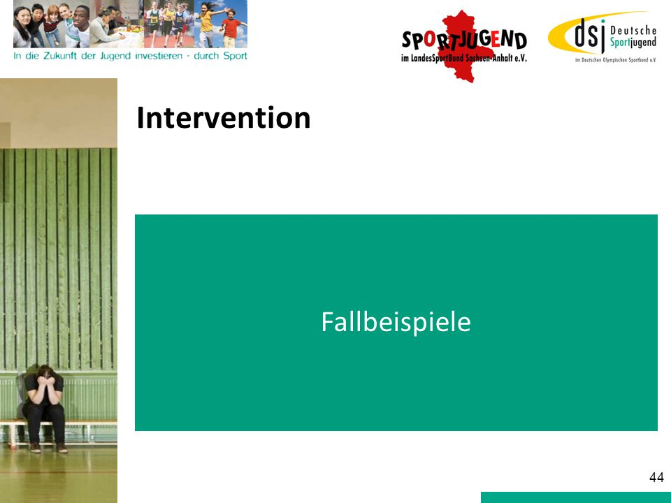 Intervention Fallbeispiele