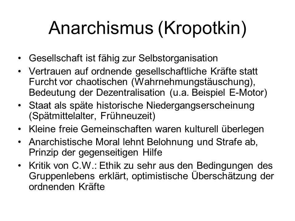 Anarchismus (Kropotkin)