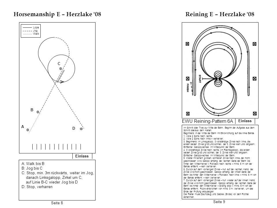 Horsemanship E – Herzlake 08