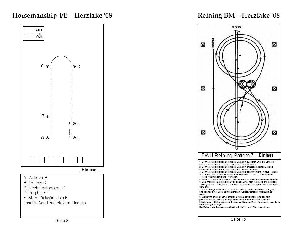 Horsemanship J/E – Herzlake 08