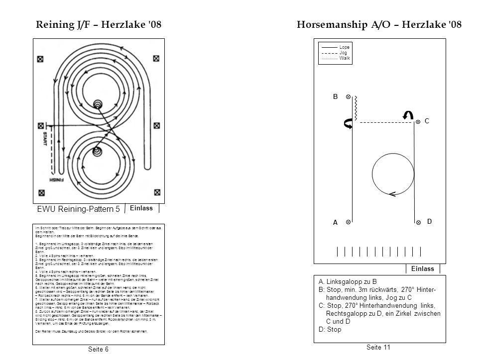 Horsemanship A/O – Herzlake 08
