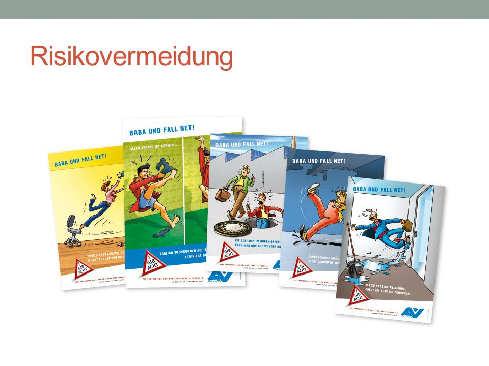 Risikovermeidung