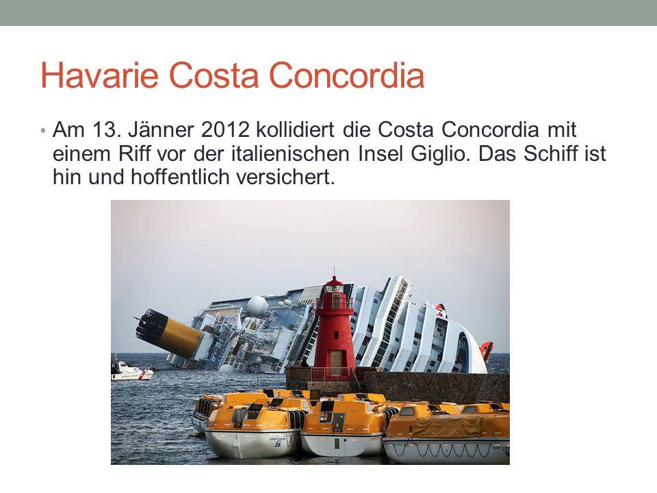 Havarie Costa Concordia