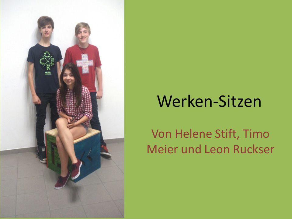 Von Helene Stift, Timo Meier und Leon Ruckser
