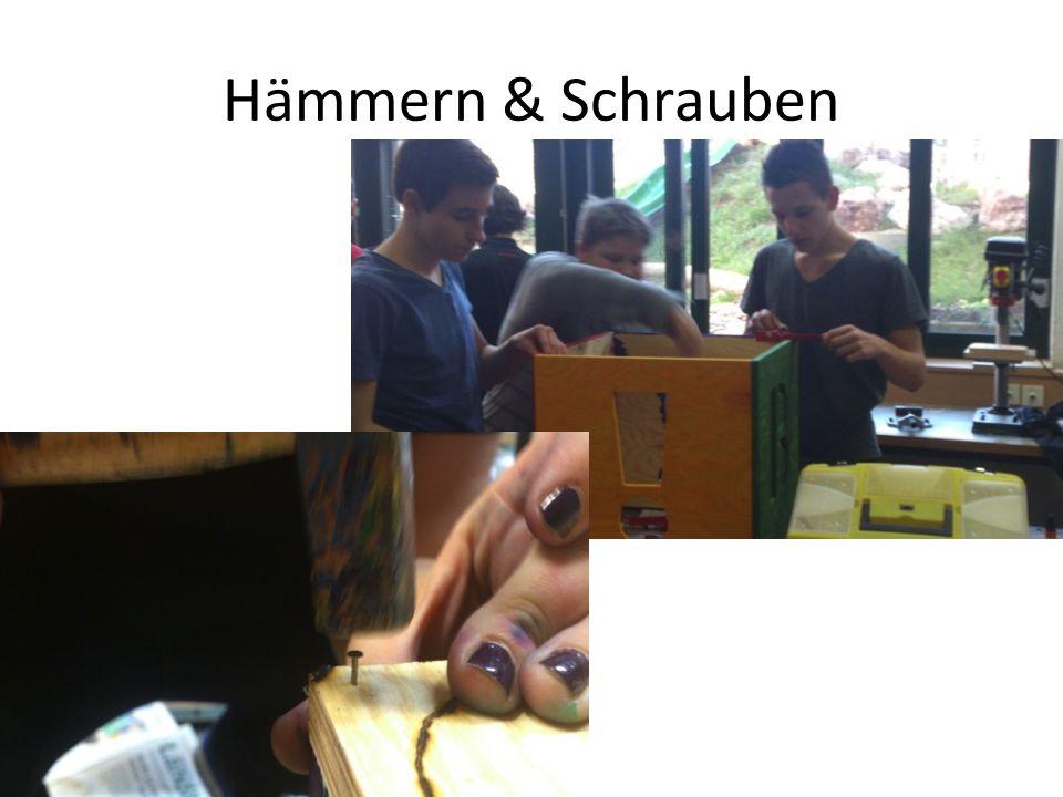 Hämmern & Schrauben