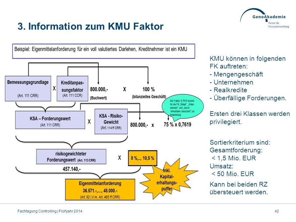 3. Information zum KMU Faktor