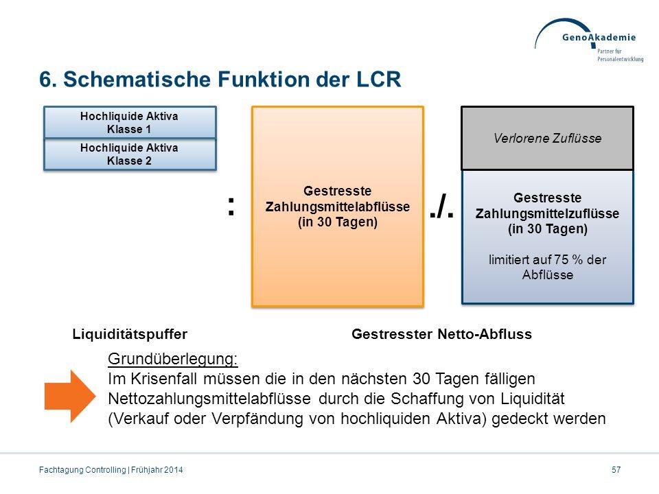 6. Schematische Funktion der LCR