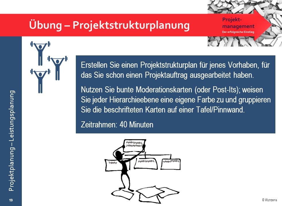 Übung – Projektstrukturplanung