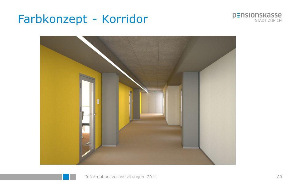 Farbkonzept - Korridor