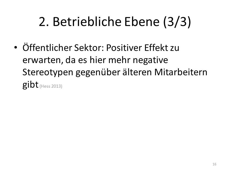 2. Betriebliche Ebene (3/3)