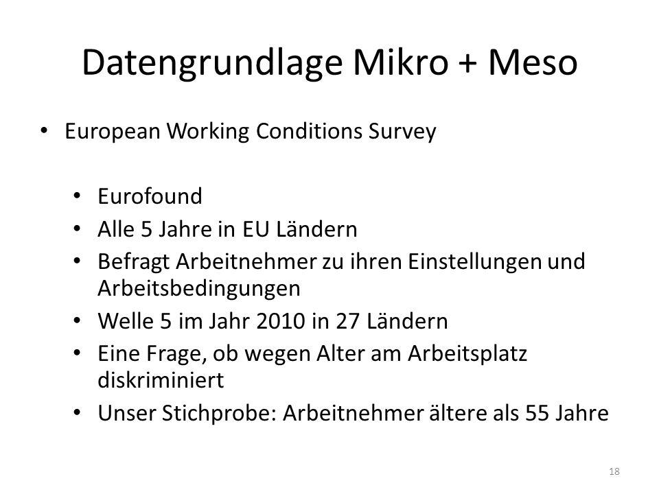 Datengrundlage Mikro + Meso