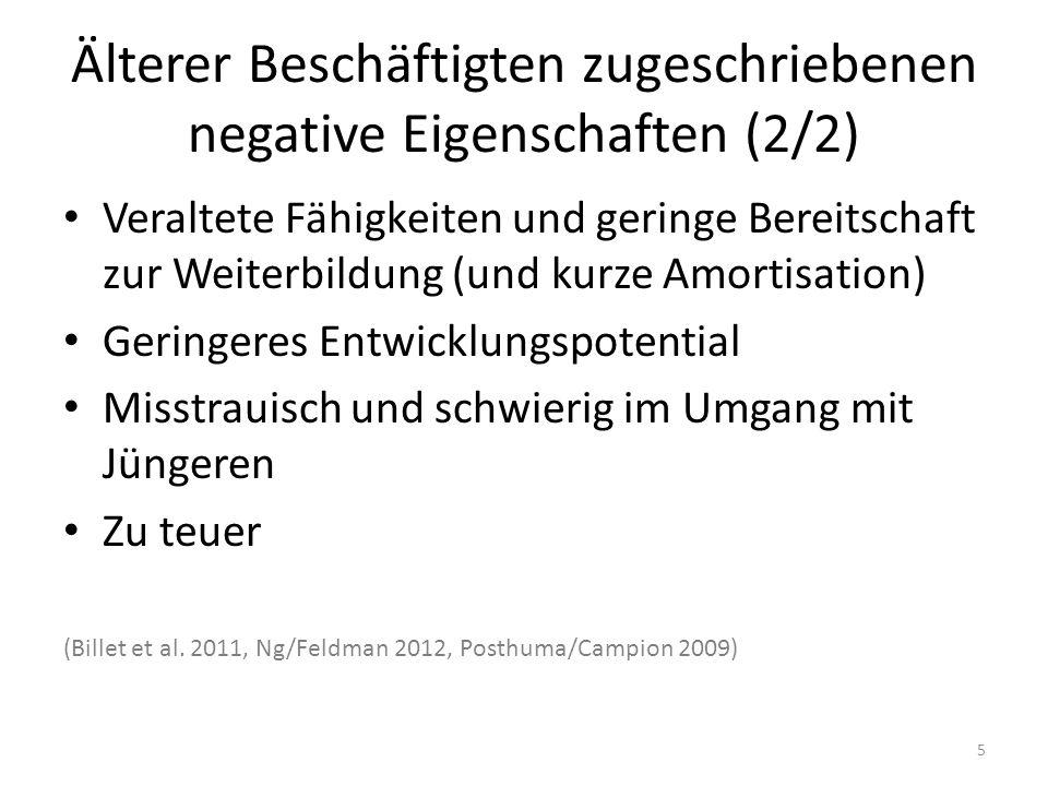 Älterer Beschäftigten zugeschriebenen negative Eigenschaften (2/2)