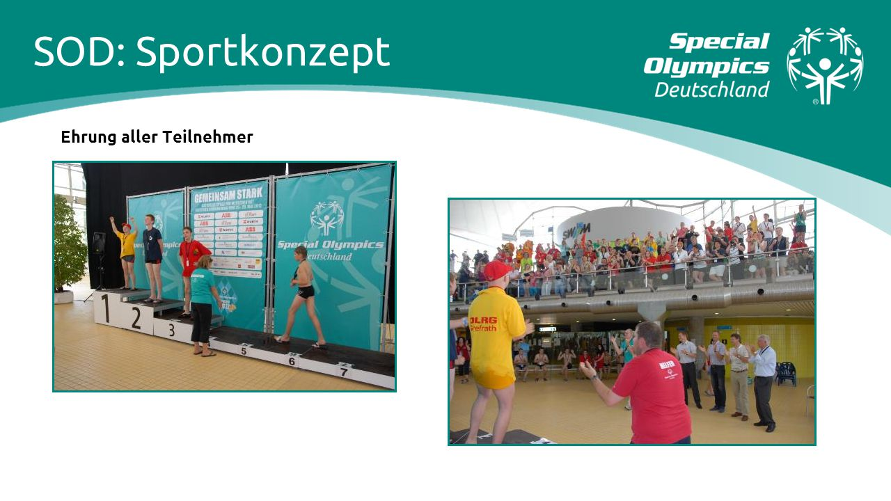 SOD: Sportkonzept Ehrung aller Teilnehmer