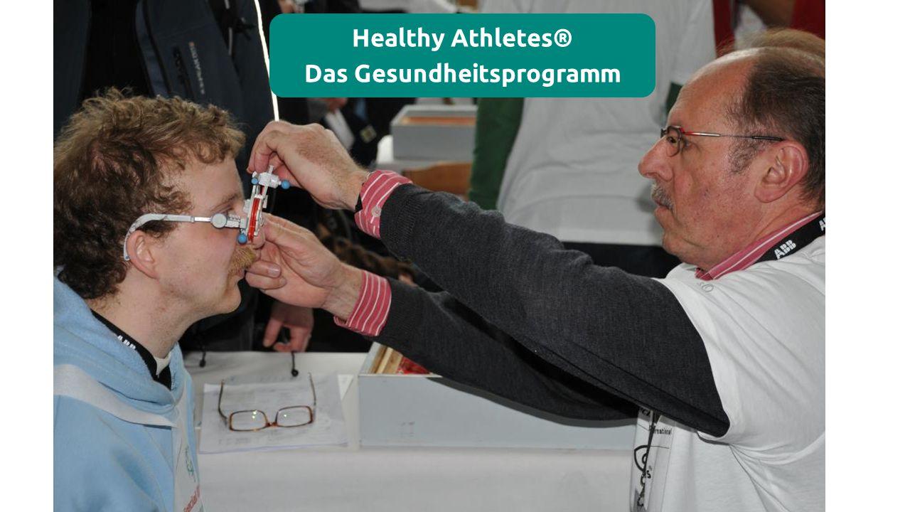 Healthy Athletes® Das Gesundheitsprogramm
