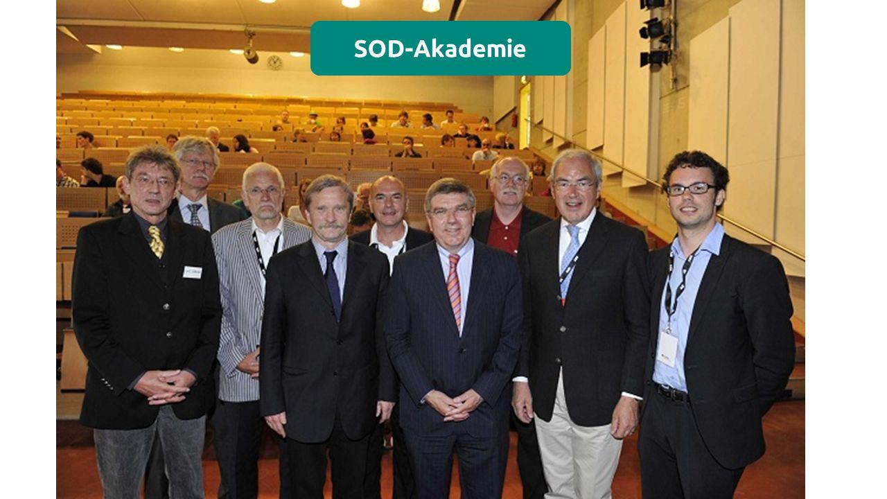 SOD-Akademie Die Special Olympics Deutschland Akademie wurde im Jahr 2008 gegründet.