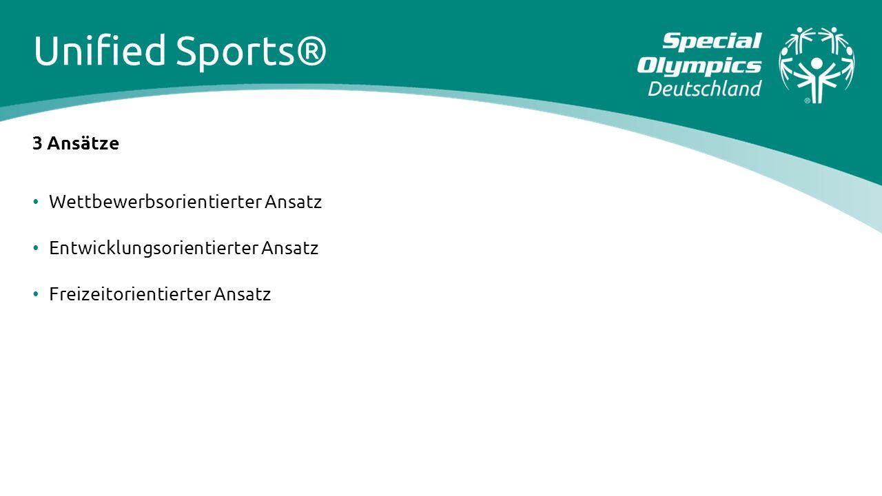 Unified Sports® 3 Ansätze Wettbewerbsorientierter Ansatz