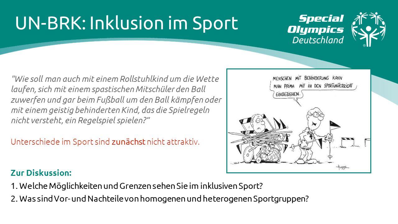 UN-BRK: Inklusion im Sport