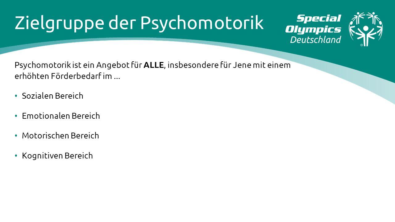 Zielgruppe der Psychomotorik